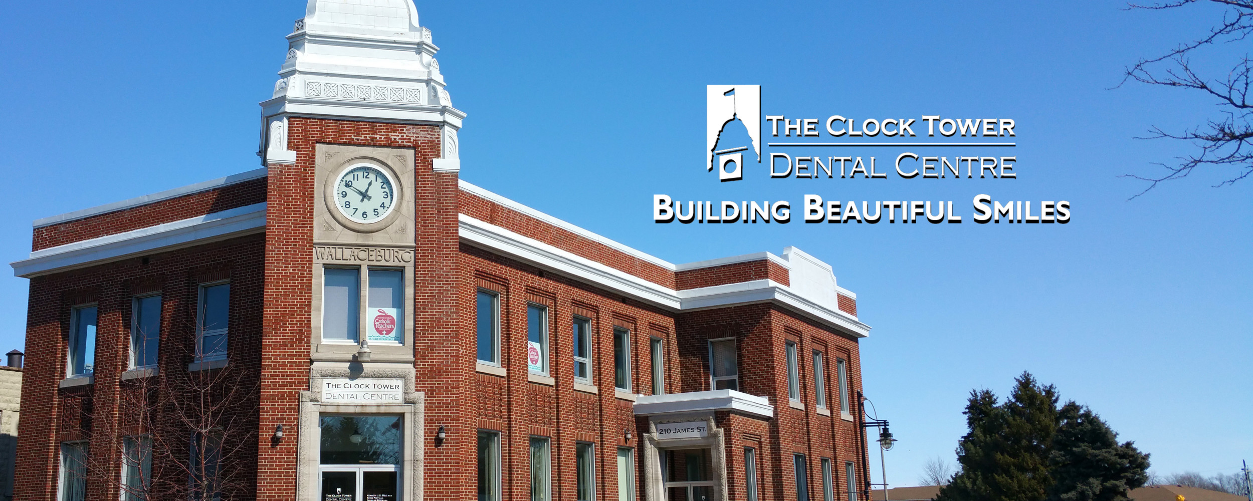 The Wallaceburg Clock Tower Dental Office Building
